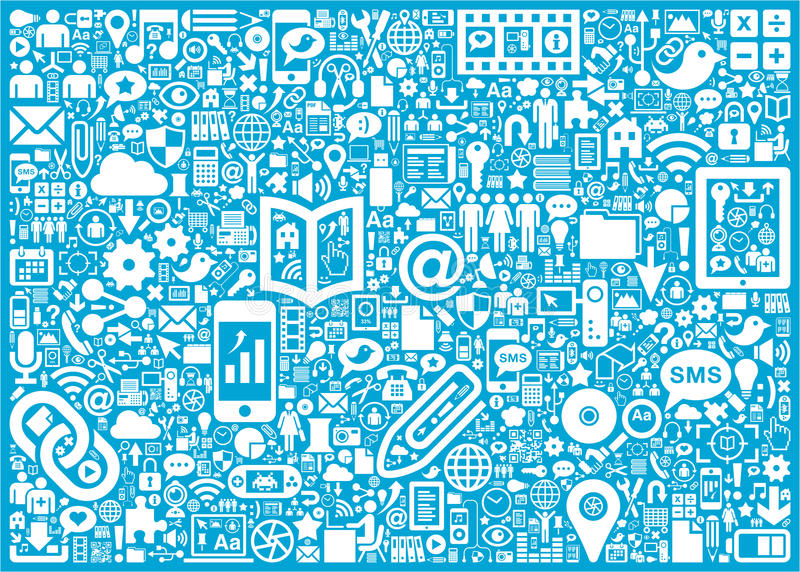 Sozialmedienhintergrund vektor abbildung