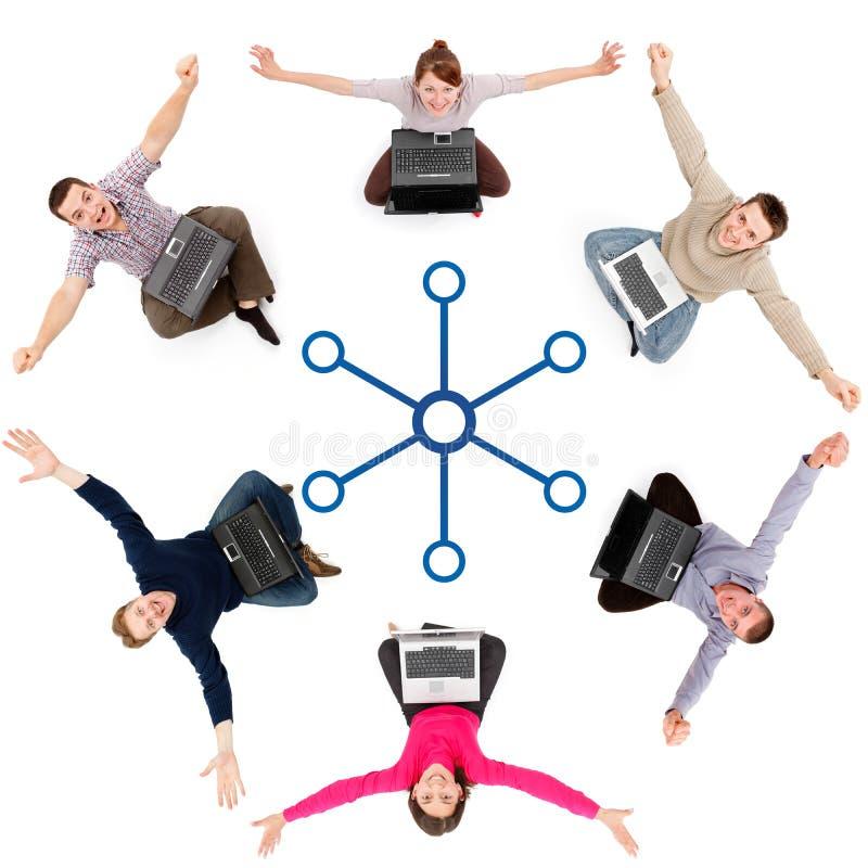 Sozialnetzbauteile
