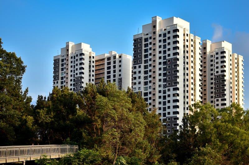 Sozialwohnung Singapurs HDB lizenzfreie stockfotos