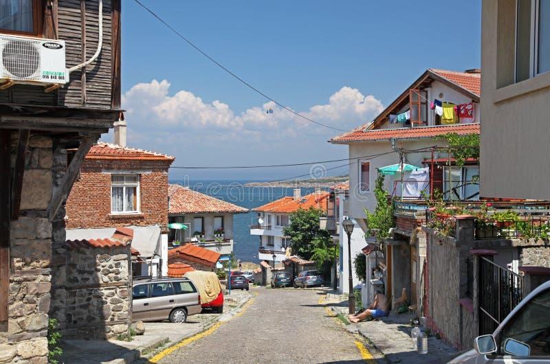 Sozopol, Bulgarie image stock