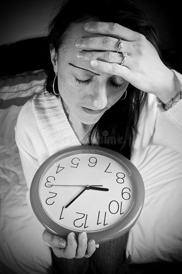 Spät aufwecken stockfotos