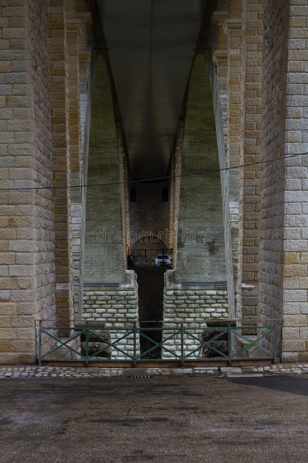 Spód most zdjęcia stock