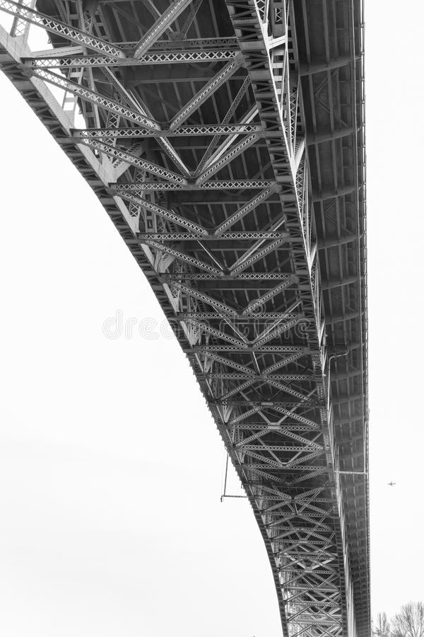 Spód zorza most - Seattle obraz royalty free