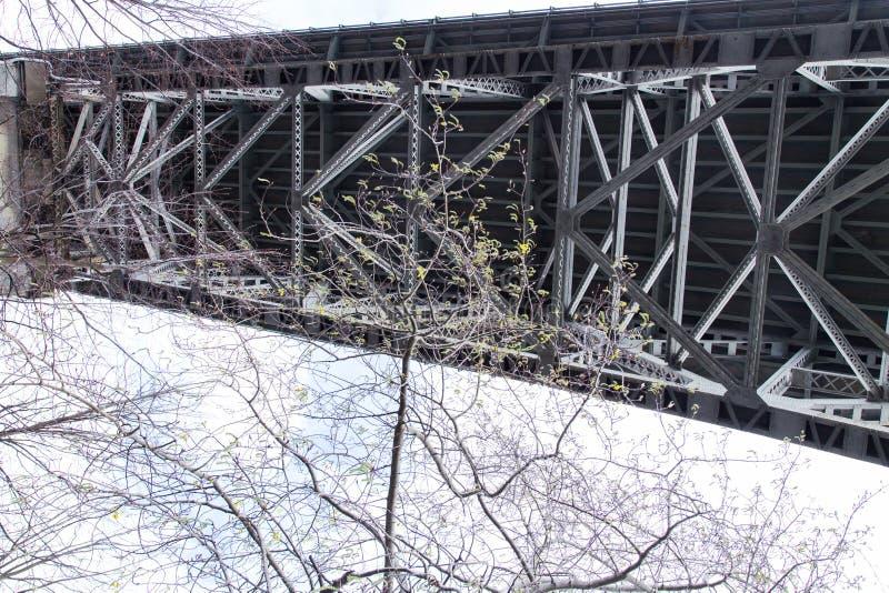 Spód zorza most - Seattle obraz stock