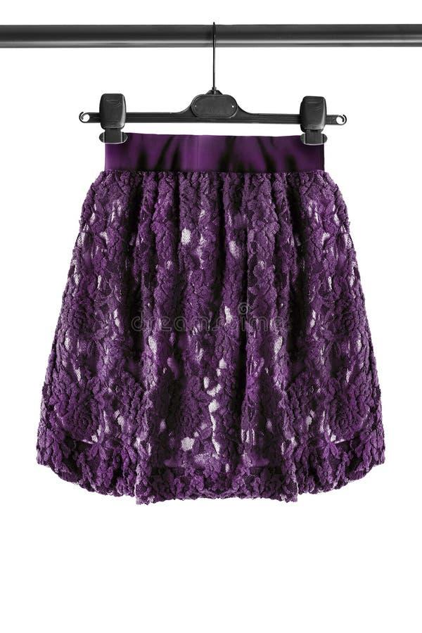 Spódnica na ubrania stojaku fotografia royalty free