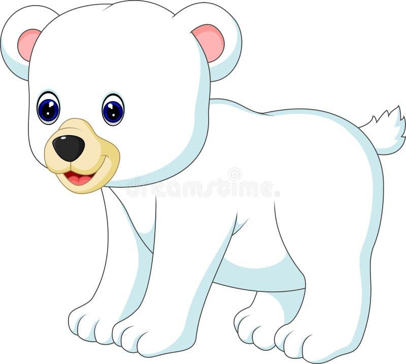 spójrz biegunowy bear ilustracja wektor