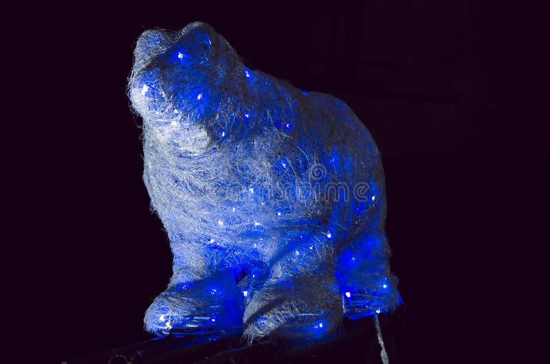 spójrz biegunowy bear abstrakcjonistycznych gwiazdkę tła dekoracji projektu ciemnej czerwieni wzoru star white obraz royalty free