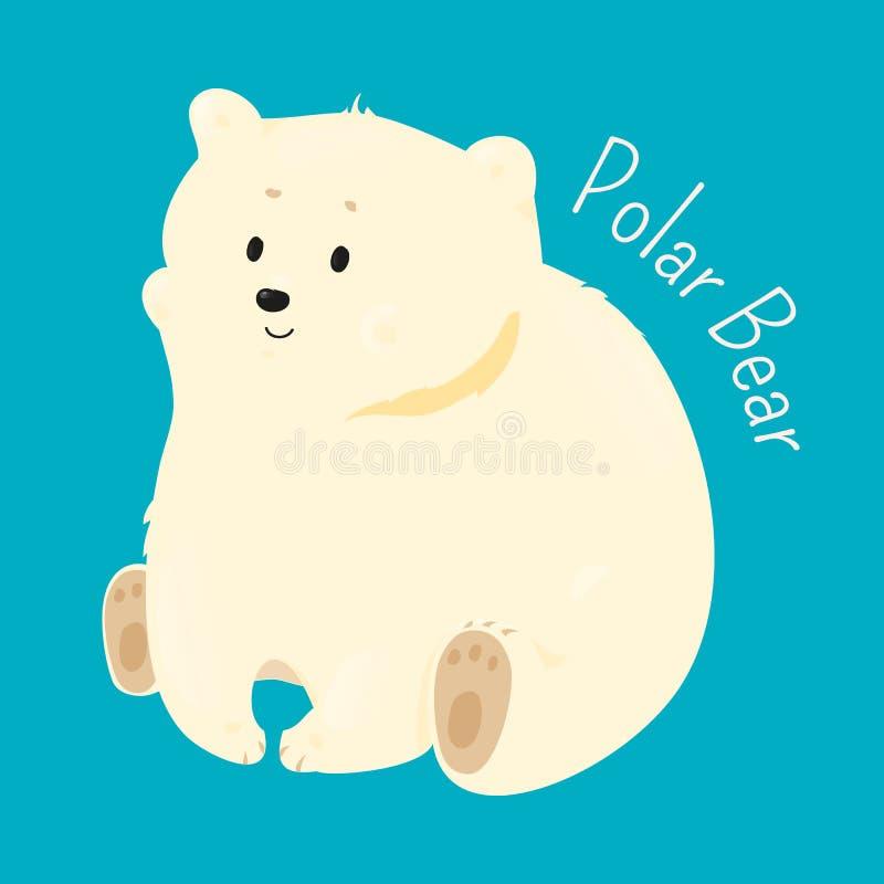 spójrz biegunowy bear Dziecko zabawy wzoru ikona ilustracji