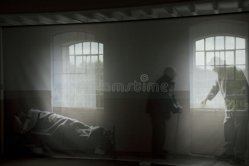 Spökar arkivfoton