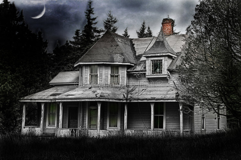 spökat arkivbild