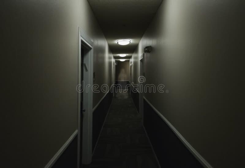 Spöke i hallet arkivbilder