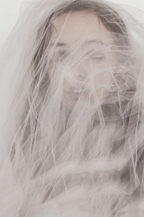 Spöklik closeup arkivfoton