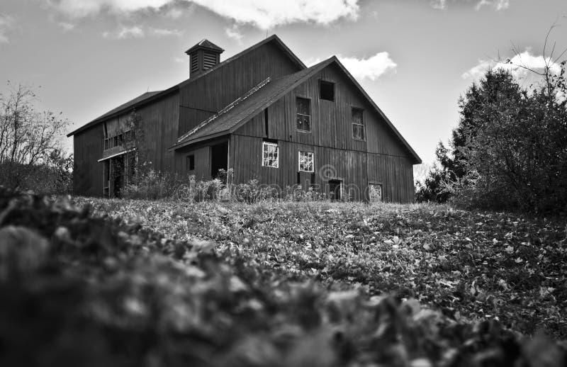 Spöklikt hus arkivbilder