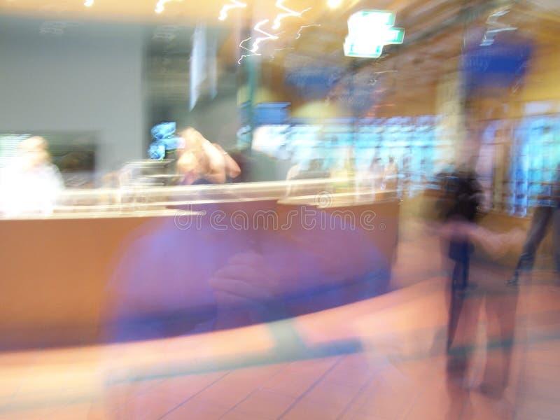 spöklikt kontor arkivfoton