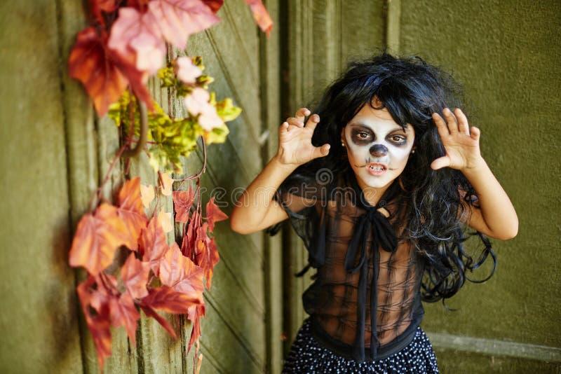 Spöklikt och ilsket fotografering för bildbyråer