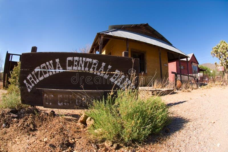 spökstad för arizona gruppcentral arkivbilder