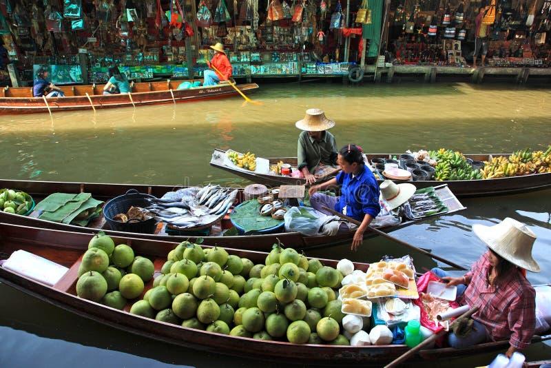 spławowy targowy Thailand zdjęcie royalty free