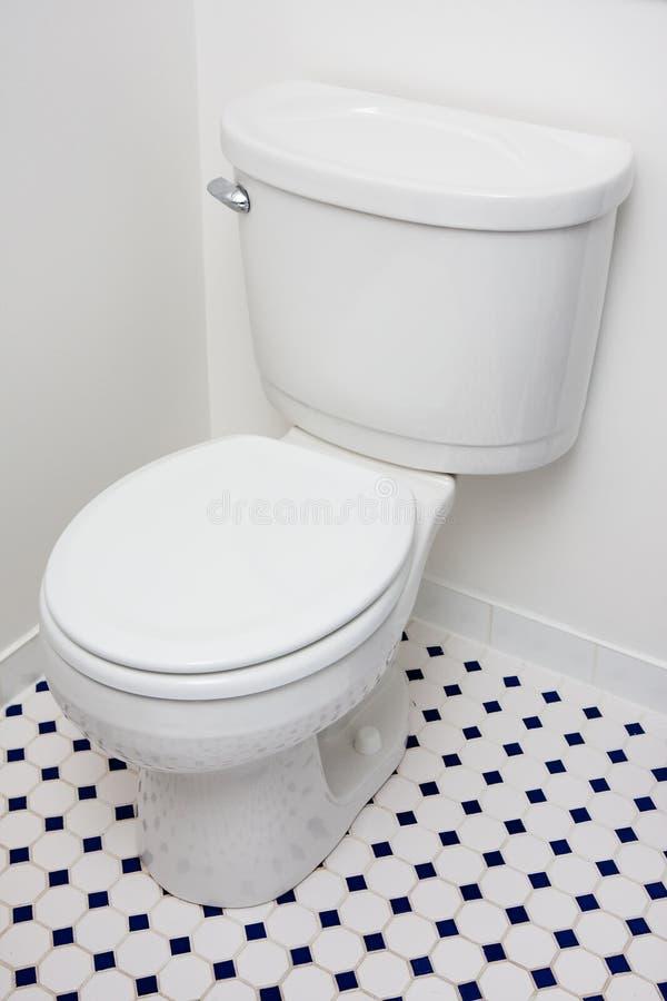 spływowa niska toaleta obraz stock