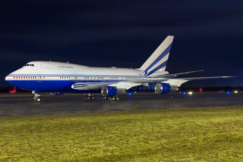 747SP royaltyfri fotografi