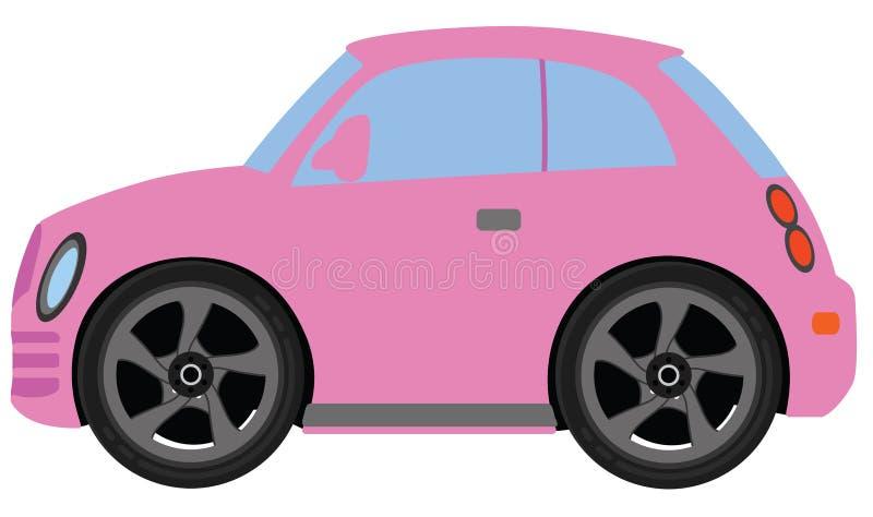 SP cor-de-rosa de Mazda 3 ilustração royalty free