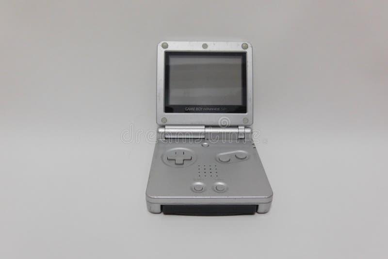 SP do avanço de Gameboy fotografia de stock