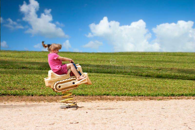 Spaß Im Sun Lizenzfreies Stockfoto