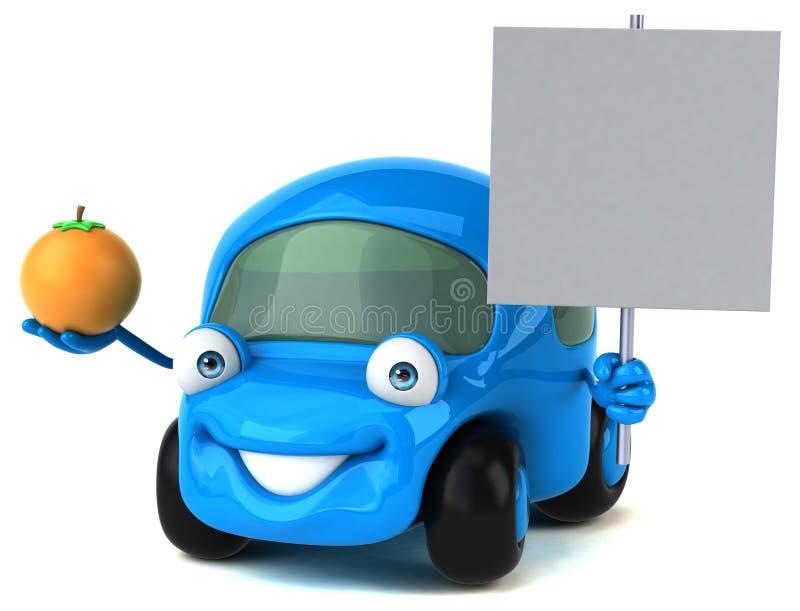 Spaß-Motor- Illustration 3D stock abbildung