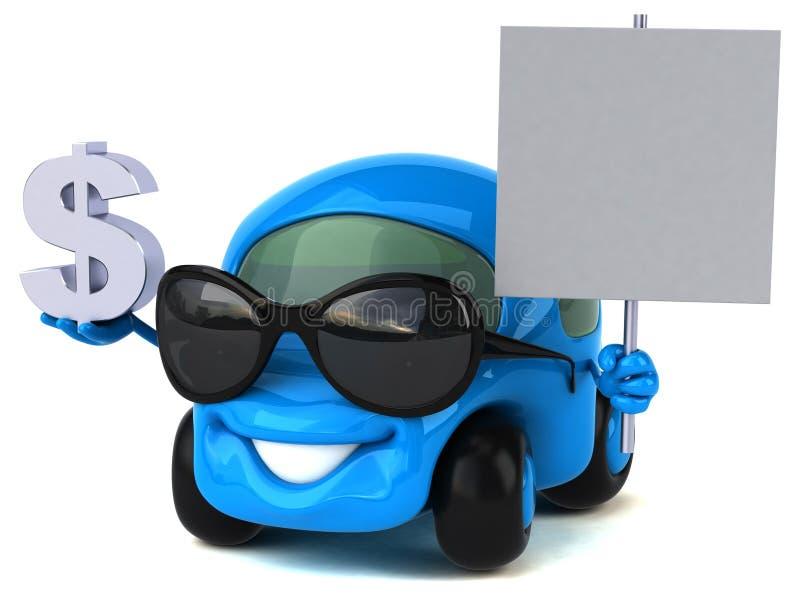 Spaß-Motor- Illustration 3D lizenzfreie abbildung