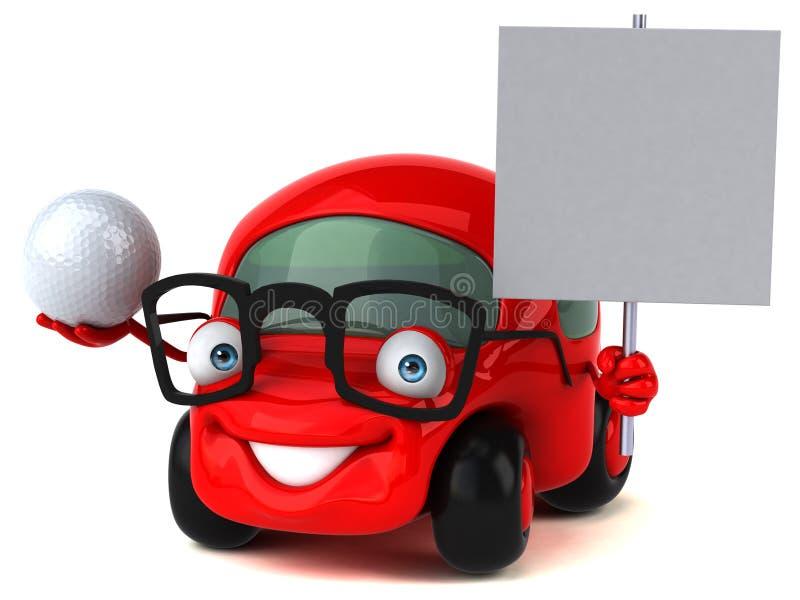 Spaß-Motor- Illustration 3D vektor abbildung
