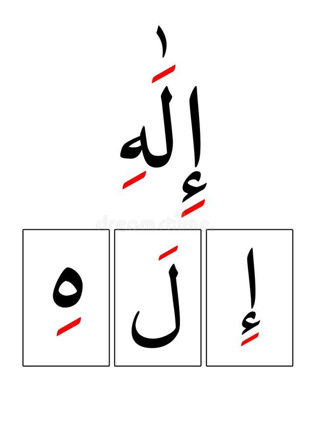 Spaß Qurankarte stockfotografie