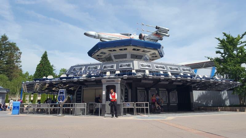 Spaß Sternkriegs-Disneylands Paris lizenzfreies stockbild