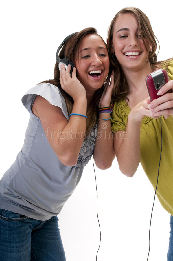 Spaß und Musik lizenzfreie stockfotografie