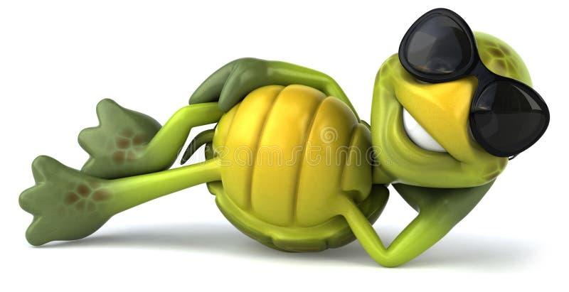 Spaßschildkröte vektor abbildung