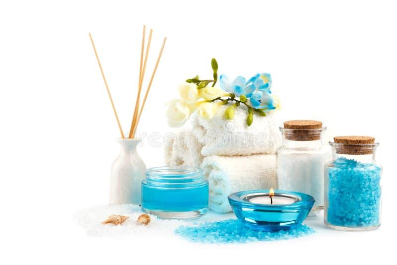 SPA και ρύθμιση wellness στοκ εικόνα με δικαίωμα ελεύθερης χρήσης