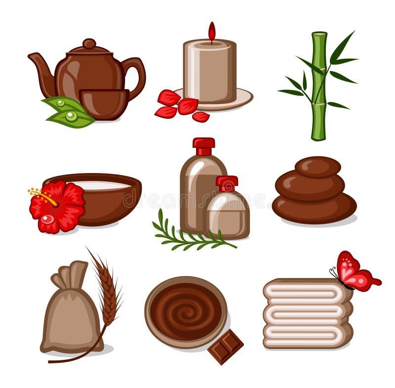 Download SPA stock vector. Illustration of flavor, signs, massage - 13467598