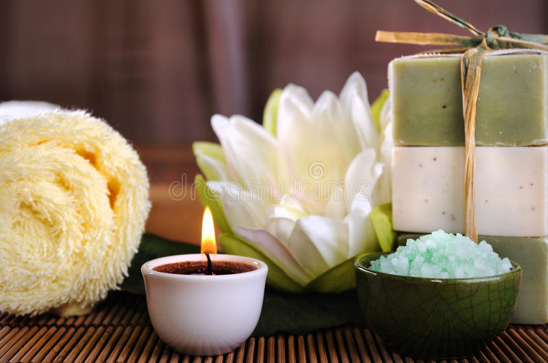 Download Spa stock image. Image of leaf, body, candle, aromatic - 16223335