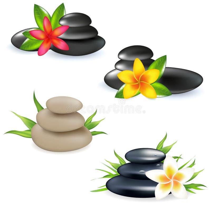 Download Spa stock vector. Image of frangipani, background, meditation - 18244815