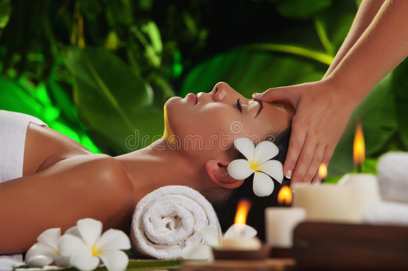 Spa stock image