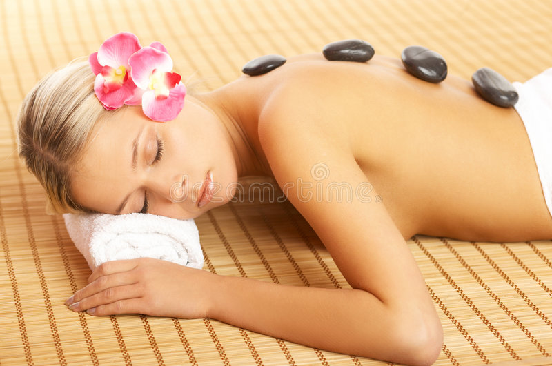 Download Daily Spa stock photo. Image of face, portrait, attractive - 4988580