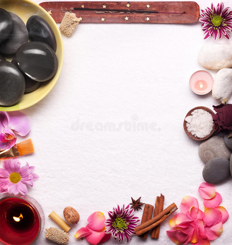 Download Spa accessories stock photo. Image of green, care, medical - 18554730