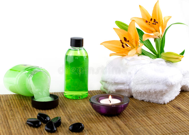 Download Spa accessories stock image. Image of healthy, decoration - 18685953