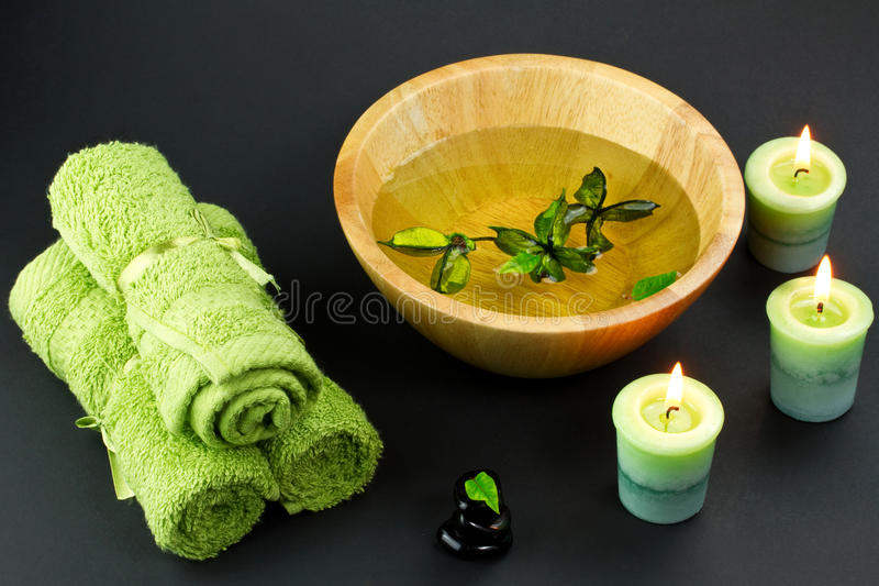Download Spa accessories stock image. Image of candle, health - 18692505