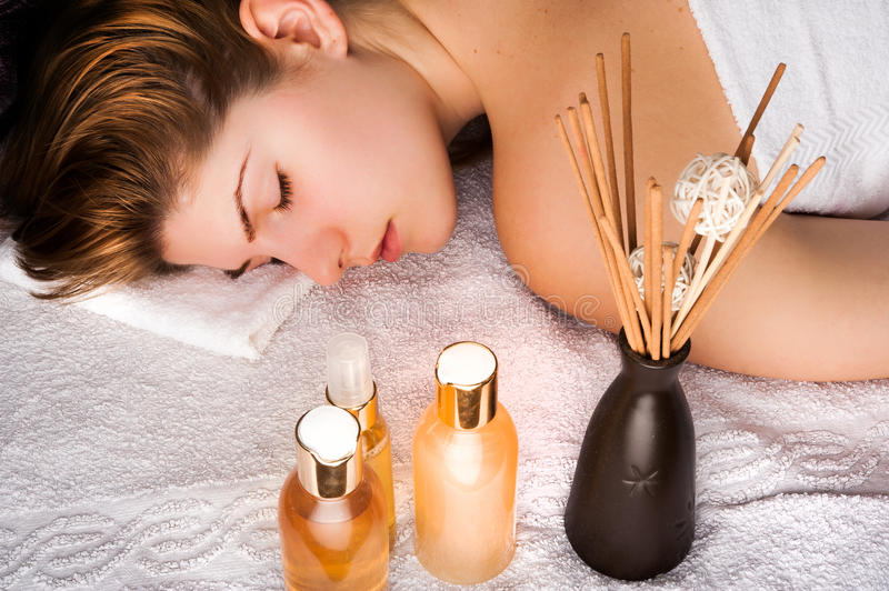 Spa Aromatherapy royalty free stock image