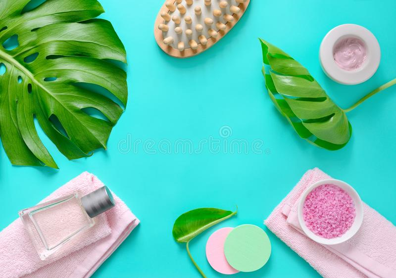 Spa background with a space for a text stock photos