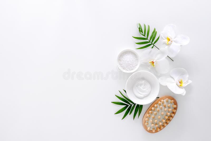 Spa background with a space for a text stock photography