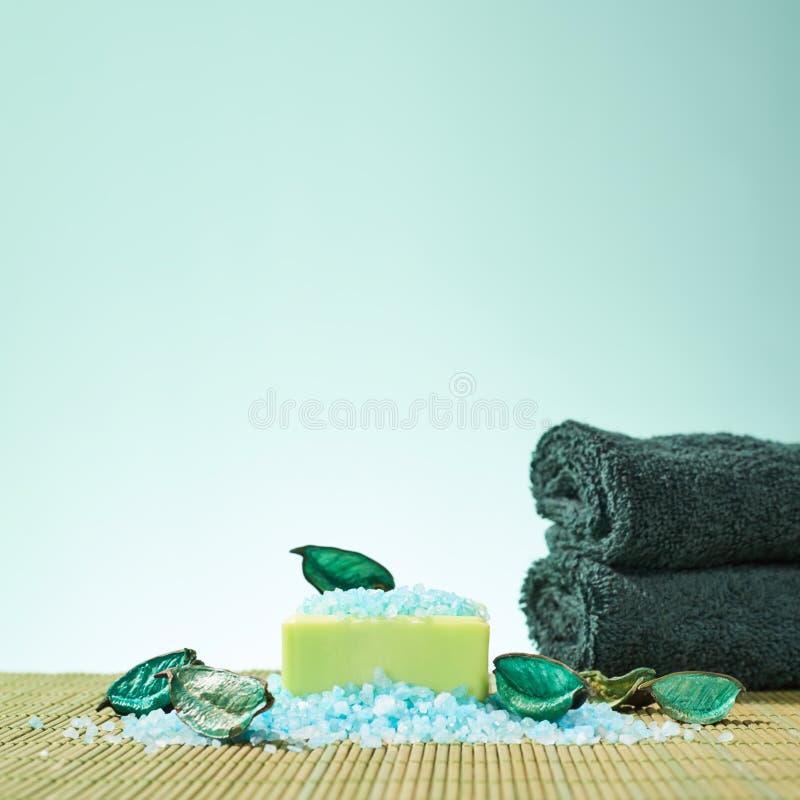 Spa badningsammansättning fotografering för bildbyråer