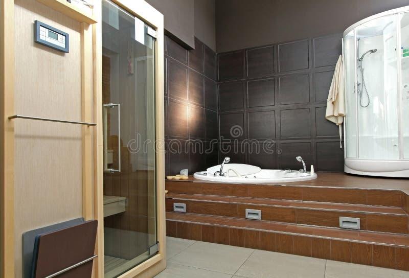 Spa bathroom royalty free stock photography