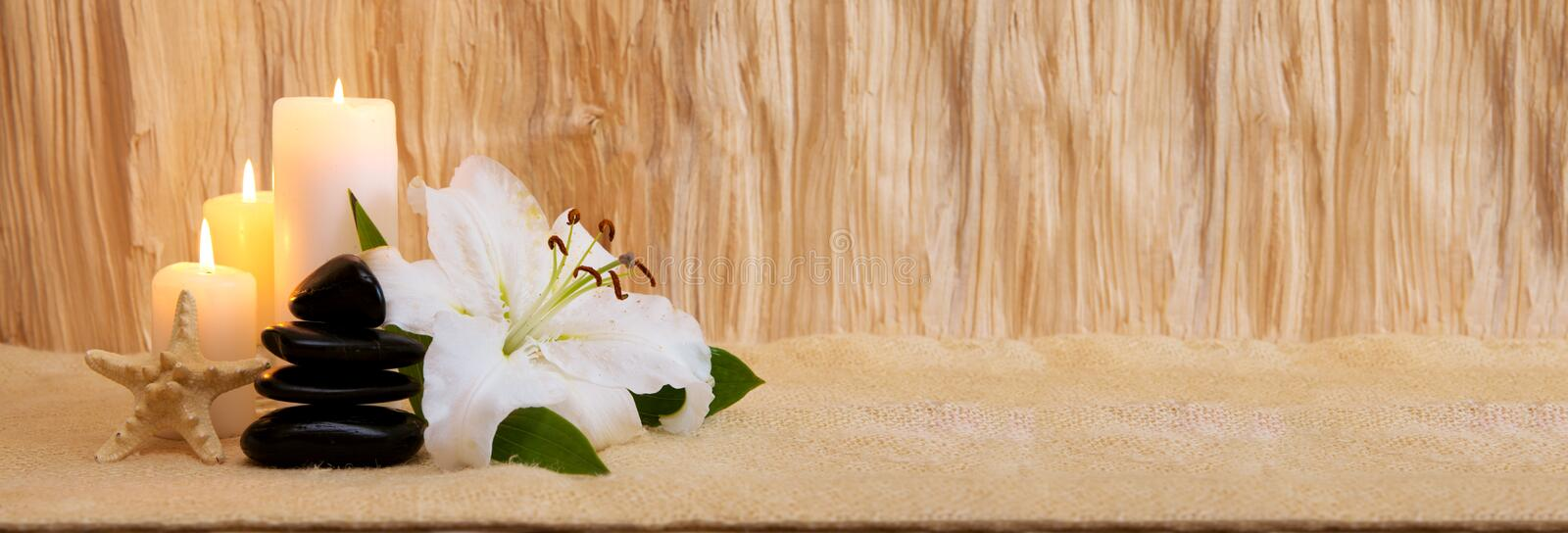 Spa beauty composition. royalty free stock image