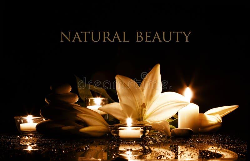 Spa beauty composition stock photos
