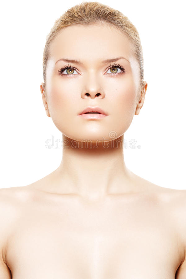 Download Spa Beauty. Model With Beautiful Clean Soft Skin Stock Photo - Image: 17922592